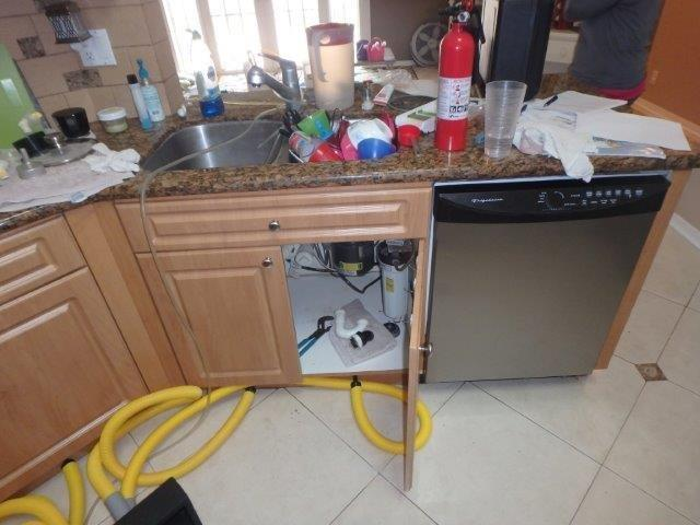 Kitchen Drain Leak Pembroke Pines