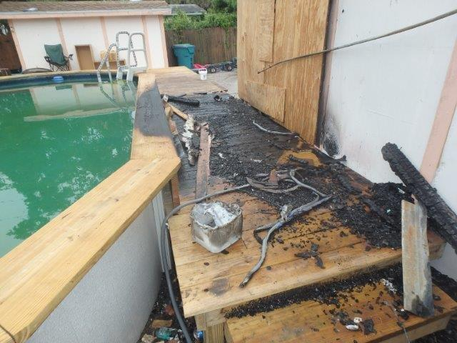 Pool Deck Fire Boynton Beach