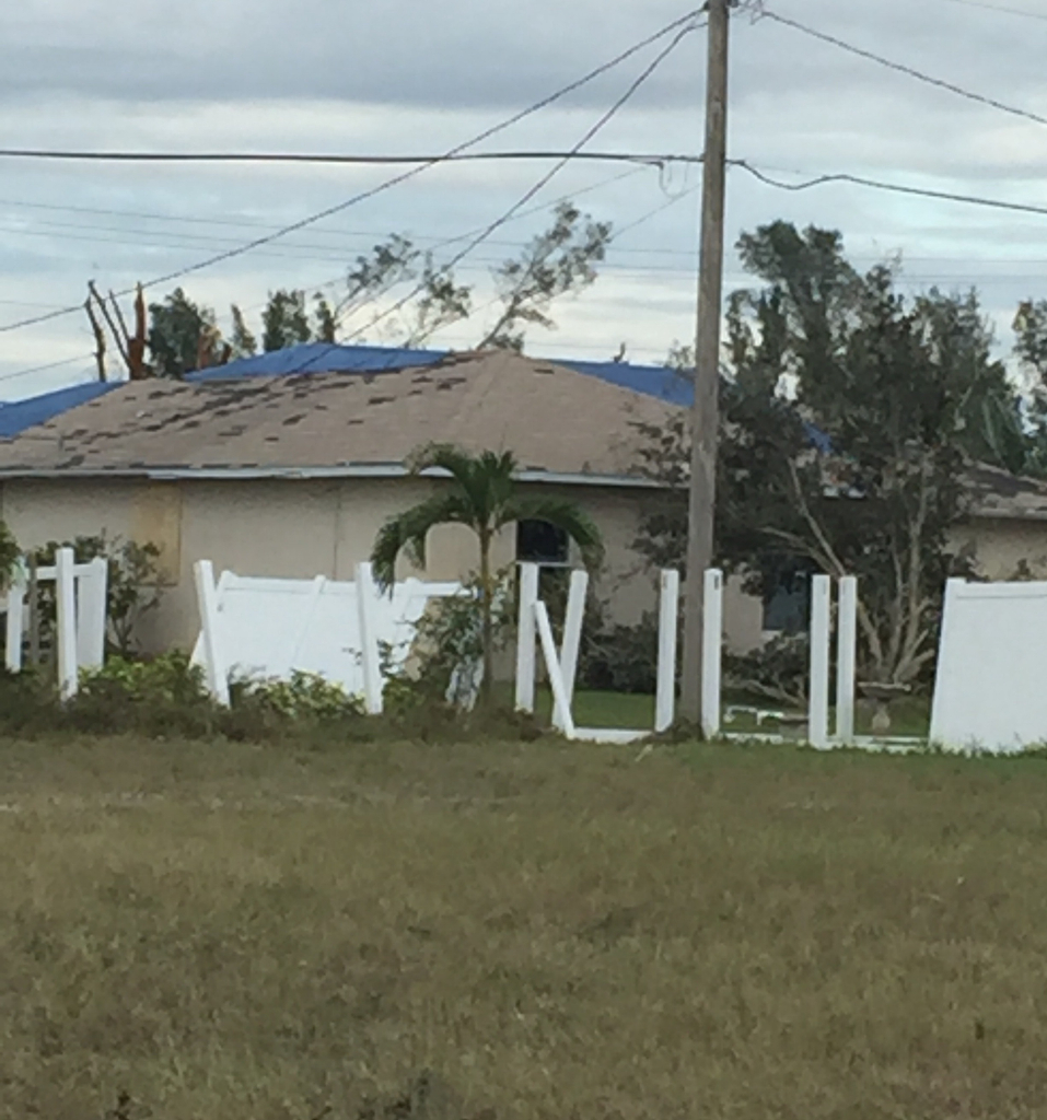 Tornado damage Cape Coral