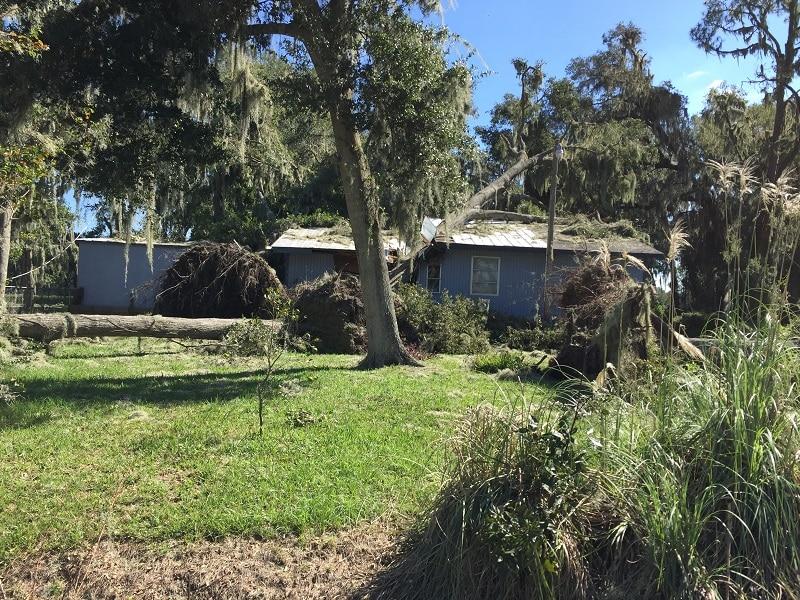 Hurricane Matthew Saint Augustine October 2016