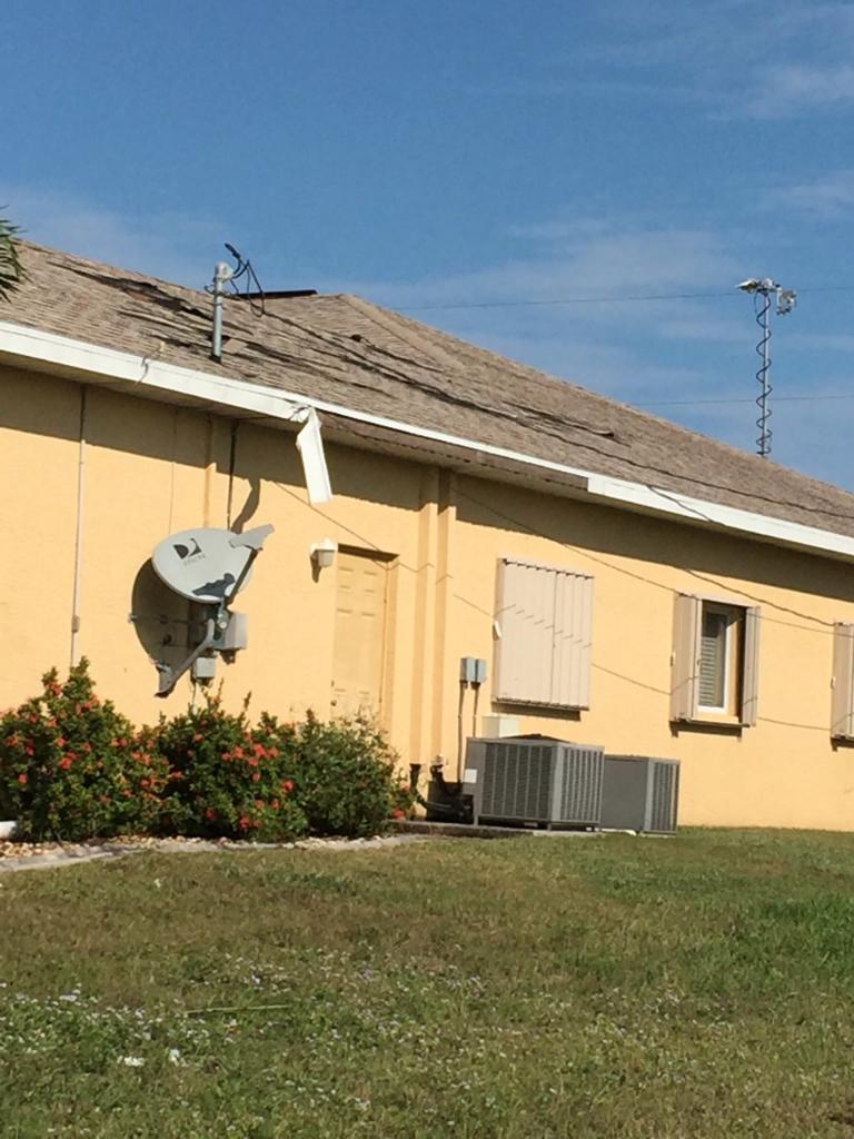 Tornado damage Cape Coral