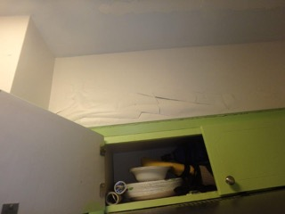 Water Damage from Condo Above-Lighthouse Point