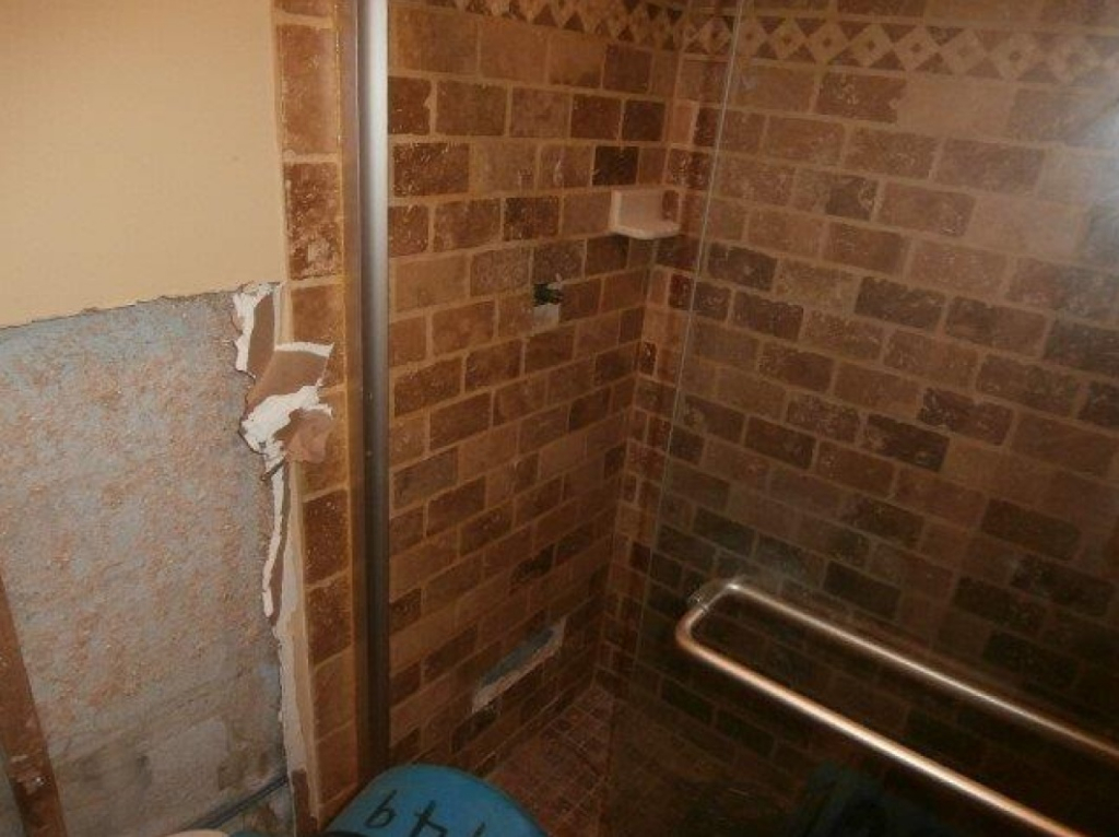 Water in Master Bath