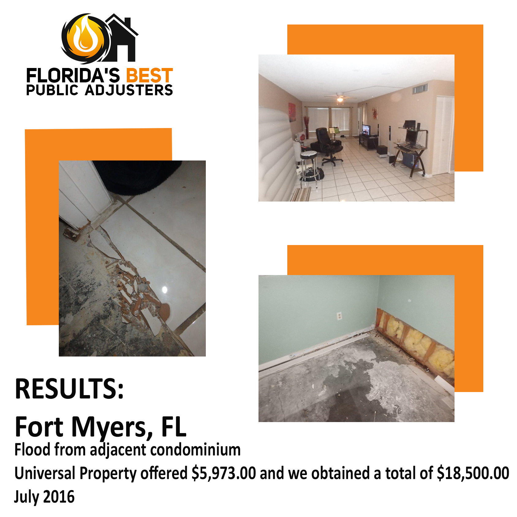 Fort Myers Water Damage Case Study