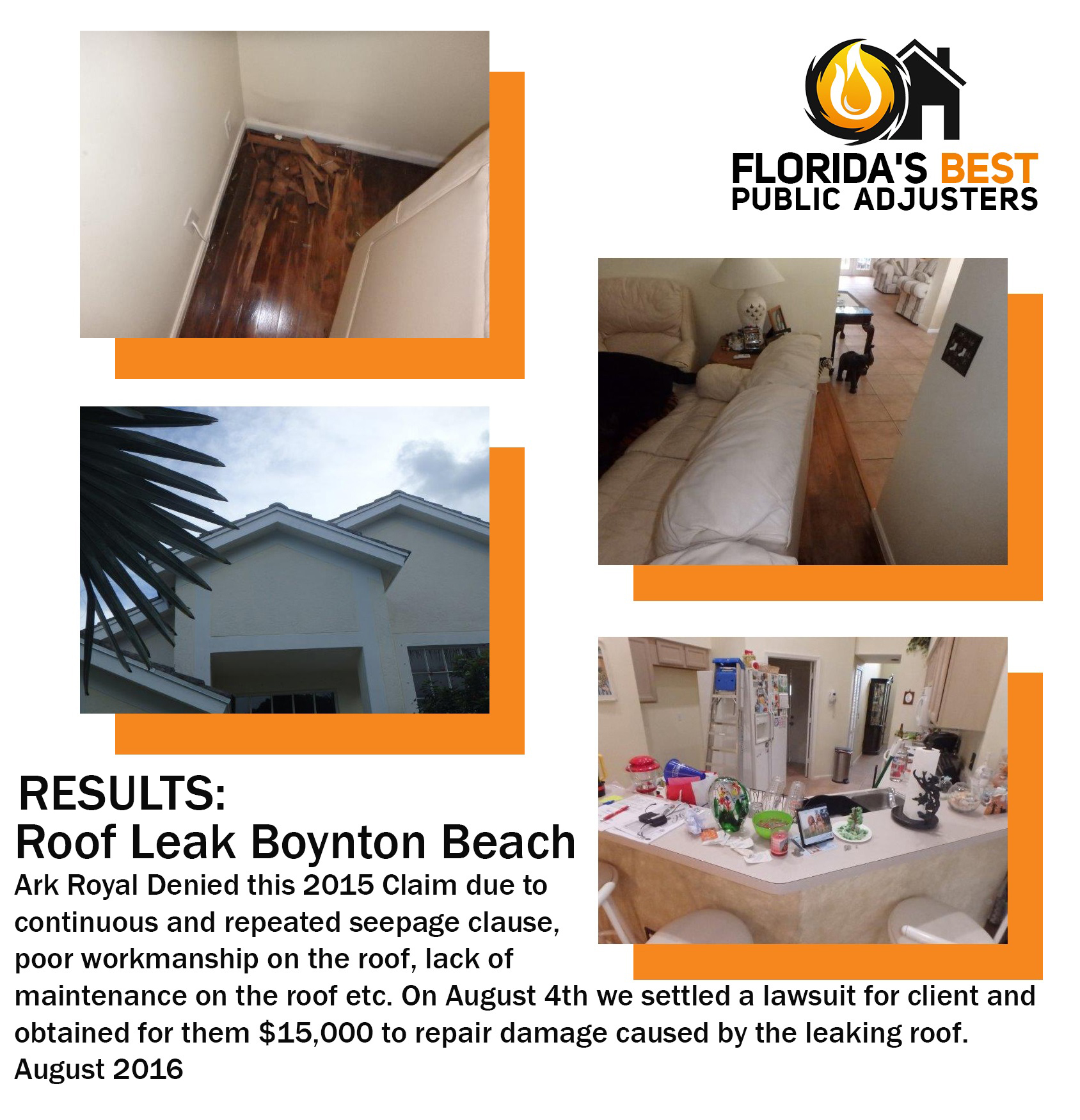 Roof Leak Boynton Beach