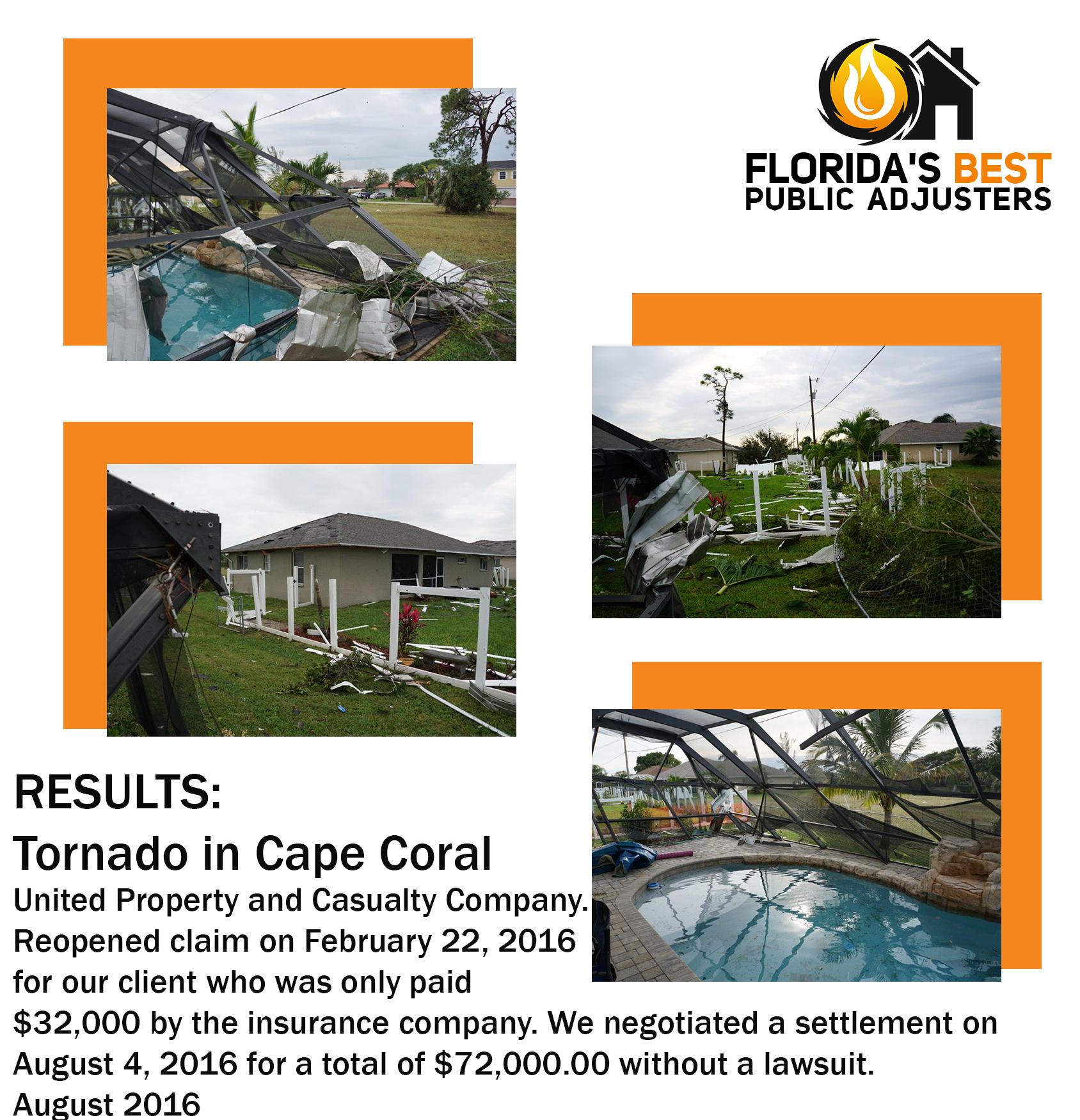 Tornado in Cape Coral