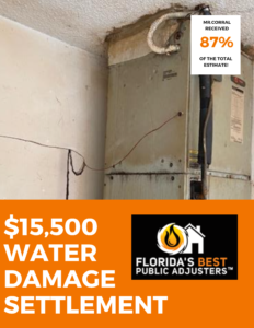 $15,500 Water Damage