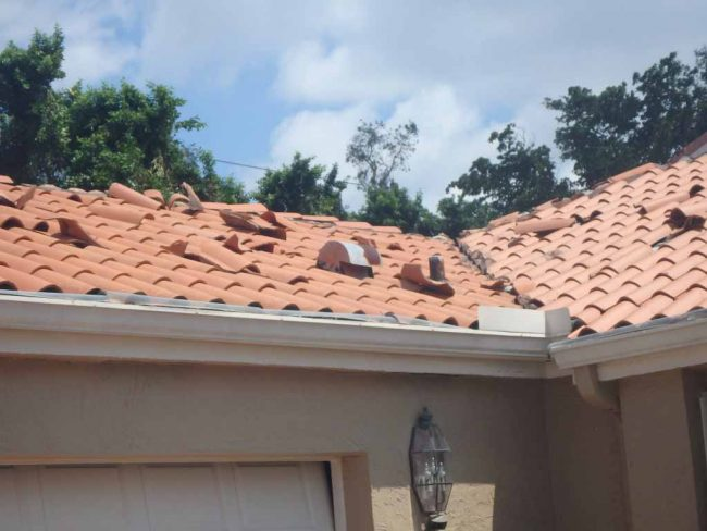Micro Tornado Damage in Boca Raton, FL