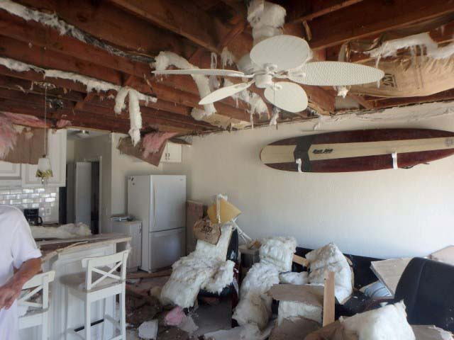 Condo Ceiling Collapsed in Lauderdale by the Sea