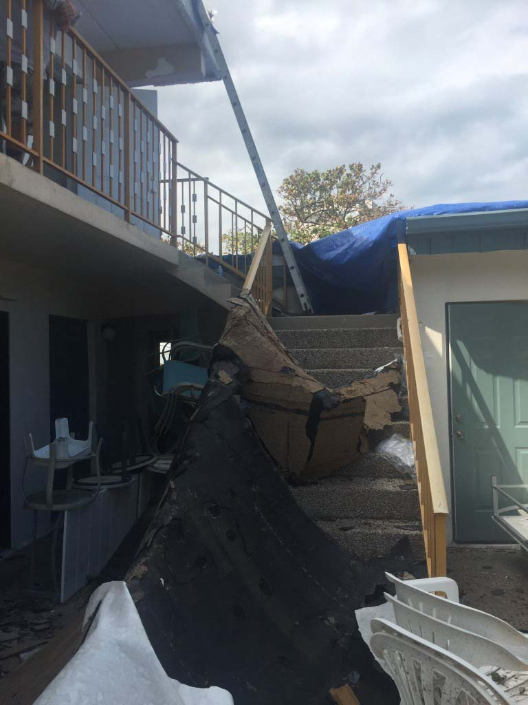 Condo Lost its Roof in Lauderdale by the Sea
