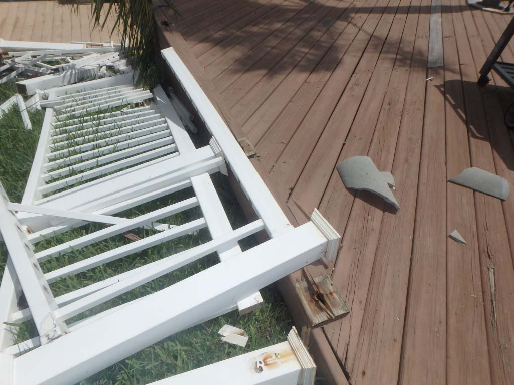 Deck Damage in Lighthouse Point FL