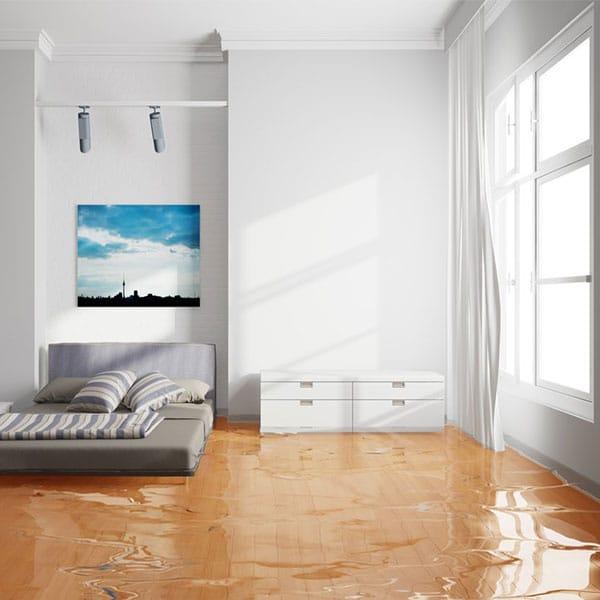 Water Damage in Boca Raton bedroom