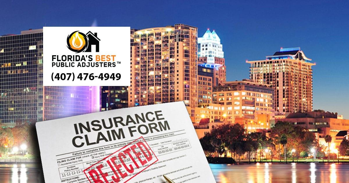 Florida Insurance Claim diagram