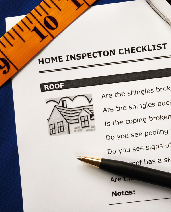 Home inspection checklist image