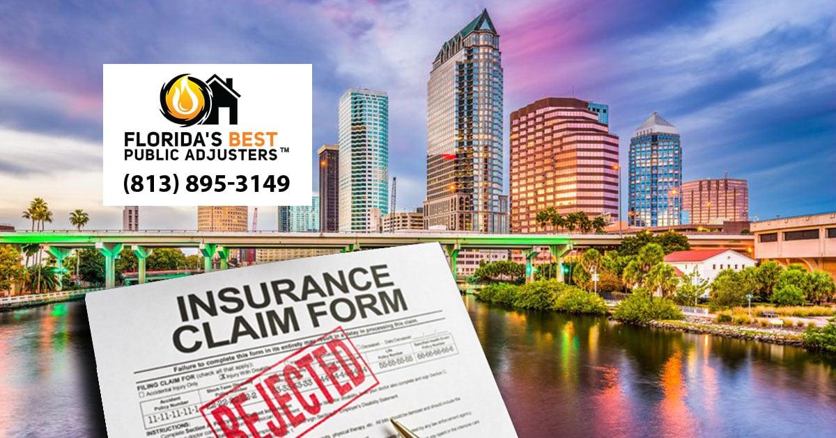 FLORIDA'S BEST PUBLIC ADJUSTERS Tampa logo & banner