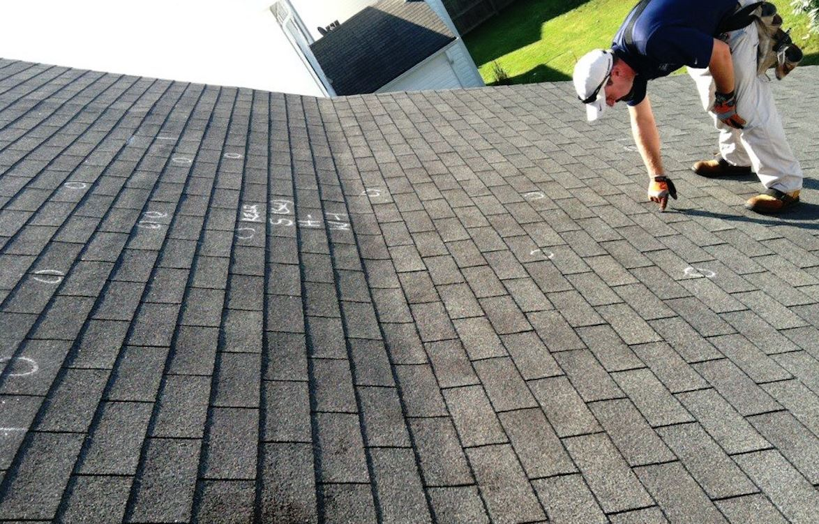 ROOF DAMAGE Inspection in BOCA RATON